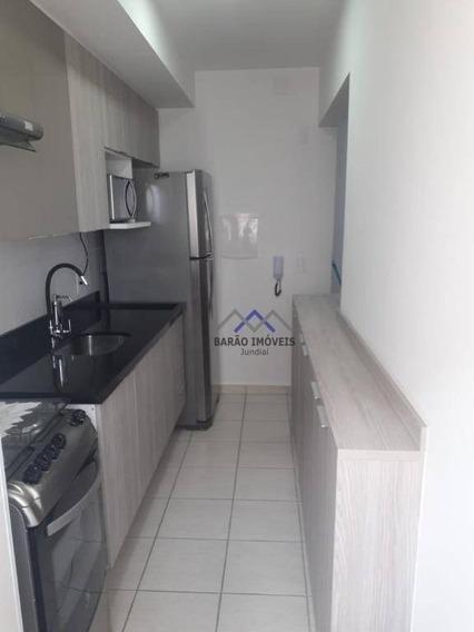 Apartamento Com 2 Dormitórios À Venda, 48 M² Por R$ 225.000,00 - Residencial Alexandria - Várzea Paulista/sp - Ap1497