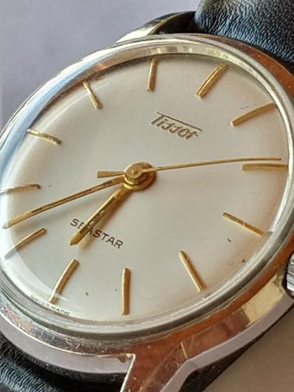 Relógio Tissot Swiss Mecânico Manual Anos 1960