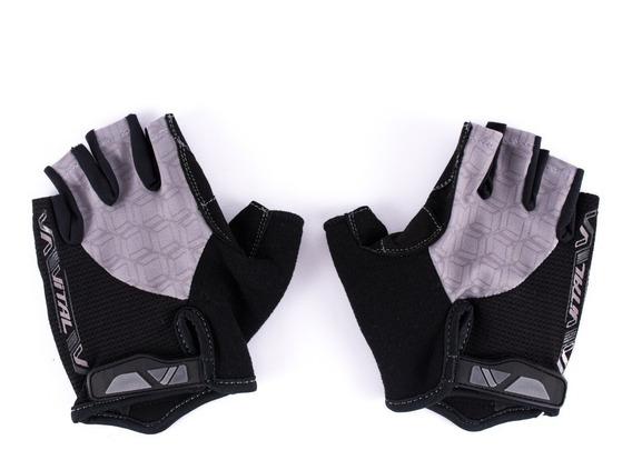Guantes Para Ciclismo Vital Confgel, Negro/gris