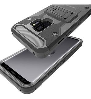 Capa Case Samsung Galaxy S9 Anti Impacto Clipe Cinto + Gel