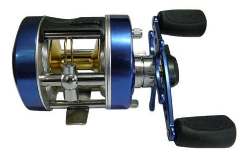 Reel Marine Sports Rotativo Caster 200 3bb Azul