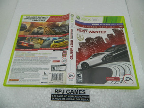 Need For Speed Most Wanted Original Midia Fisica P/ Xbox 360