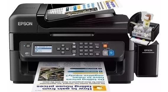 Multifunción Epson Wf 2750 Duplex, Más Sistema De Tinta $165