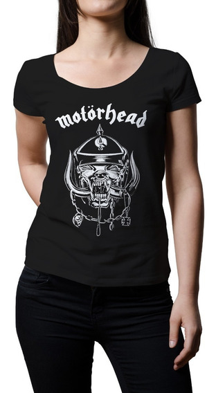 Remera Mujer Rock Motorhead   B-side Tees