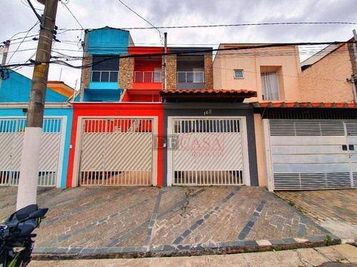 Sobrado Com 3 Dormitórios, 01 Ssuíte140 M² - Venda Por R$ 599.900 Ou Aluguel Por R$ 3.200/mês - Vila Formosa - São Paulo/sp - So3826