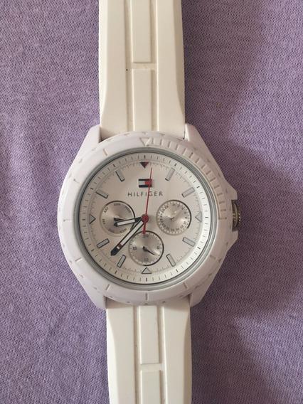 Relógio Tommy Hilfiger Original Branco Unissex