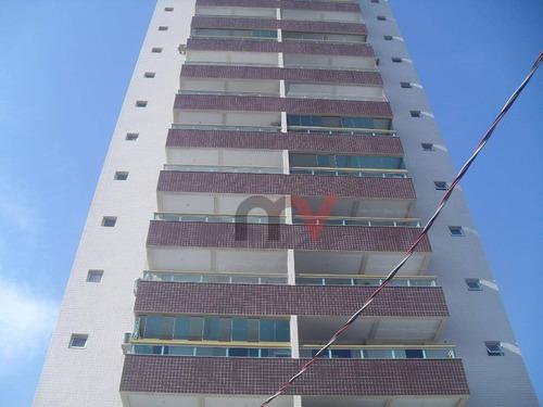 Apartamento À Venda, 55 M² Por R$ 261.000,00 - Tupi - Praia Grande/sp - Ap0960