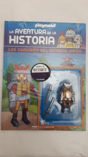 Playmobil - La Aventura De La Historia Entrega 8 Los Samurai