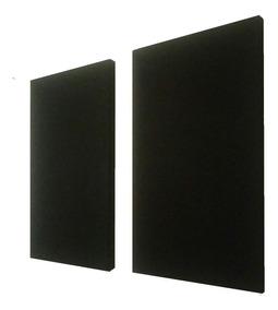 Painel Acústico Lã Rocha 100x60x05 Compre 3 Leve 4