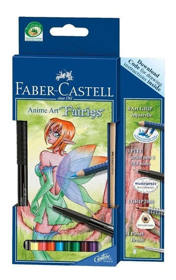 Set Faber Castell Art Fairies Para Manga