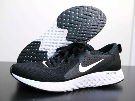 Zapatillas Running Nike Legend React Black/white Originales