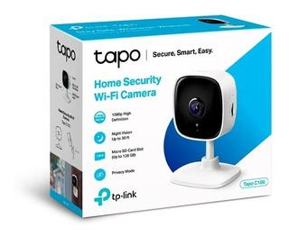 Camara Seguridad Domo Tp Link Tapo C100 Wifi 1080p