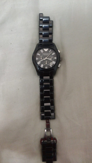 Relógio 0027g Empório Armani Ar1400 Ceramica Quebrado