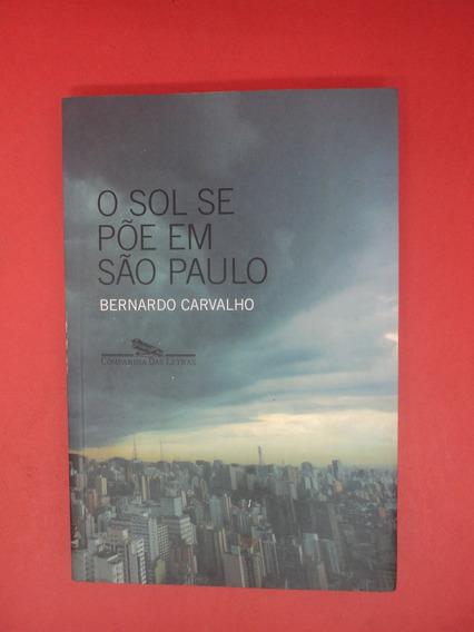 Livro O Sol Se Põe Em São Paulo