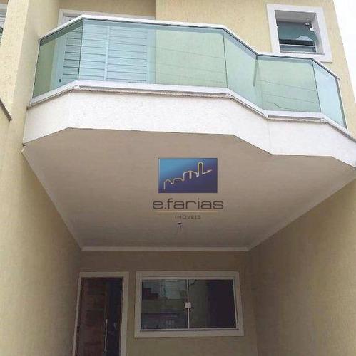 Sobrado Com 3 Dormitórios À Venda, 135 M² Por R$ 650.000,00 - Vila Carrão - São Paulo/sp - So0398