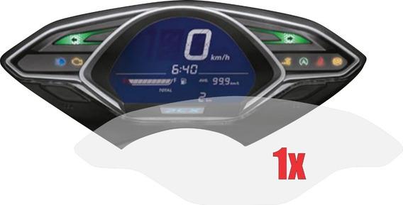1 X Película Protetora De Painel Honda Pcx Sport Anti Impacto Anti Risco 9h Nano Glass