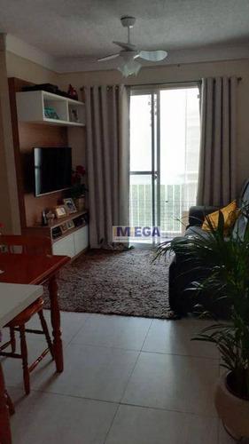 Imagem 1 de 4 de Apartamento Com 3 Dormitórios À Venda, 57 M² Por R$ 271.000,00 - Parque Prado - Campinas/sp - Ap5108