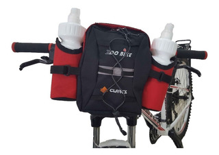 Alforja Delantera Para Bicicleta Dc Bike C/ Dos Botellas
