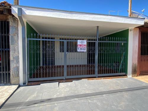 Casa Com 2 Dormitórios Para Alugar, 100 M² Por R$ 750,00/mês - Vila Nossa Senhora Aparecida - Brodowski/sp - Ca0178
