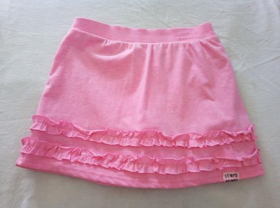 Falda Shorts Para Niña Nueva 5t
