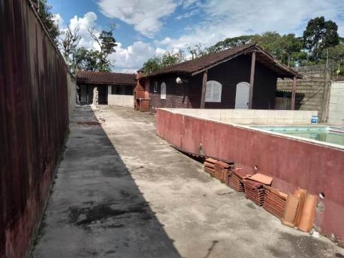 Ótima Casa Com Piscina Escriturada Em Itanhaém - 6322 | Npc