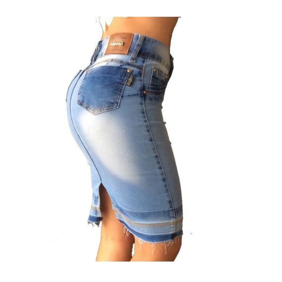 Saia Jeans Secretaria Set For Estilo Titanium 17228