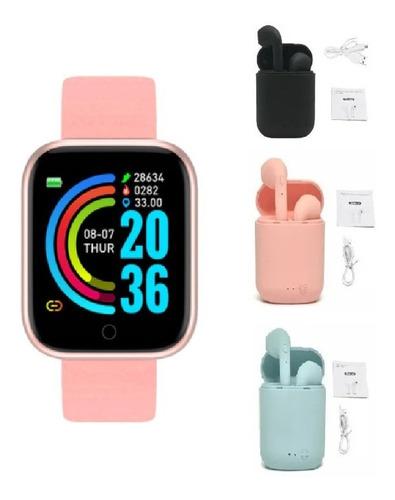 Combo Reloj Smart Watch + Audifonos Inalambricos Tws