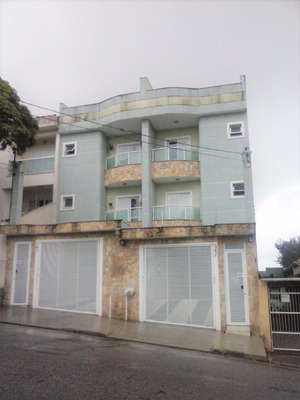 Cobertura Residencial À Venda, Vila Alzira, Santo André. - Co49511