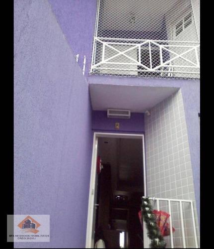 Imagem 1 de 19 de Sobrado Com 3 Dormitórios À Venda, 130 M² Por R$ 500.000,00 - Vila Nhocune - São Paulo/sp - So0171