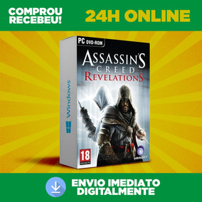 Assassins Creed Revelations - Pc - Br - Envio 0