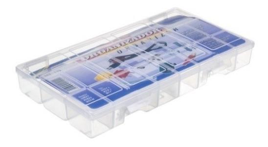 Caixa Organizadora 16 Divisórias+01, Eletrônica, Bijouterias