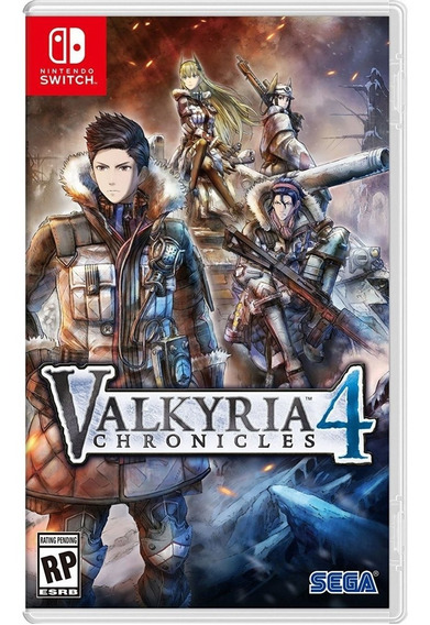 Valkyria Chronicles 4 Switch Midia Fisica Novo Lacrado