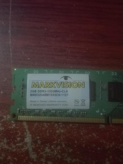 Memoria Ram Ddr3 2gb 1333 Mhz Pc Markvision