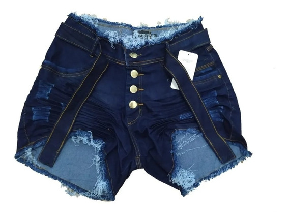 Roupas Femininas Shorts Jeans Plus Size Com Lycra 36 Ao 54