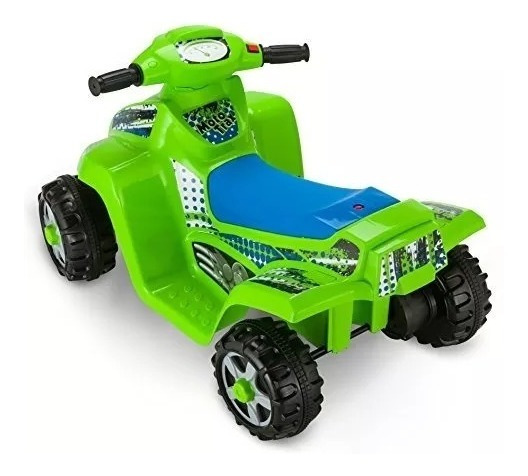 Pequeña Moto Bateria Kid Trax Ktx Quad Envio Gratis!!