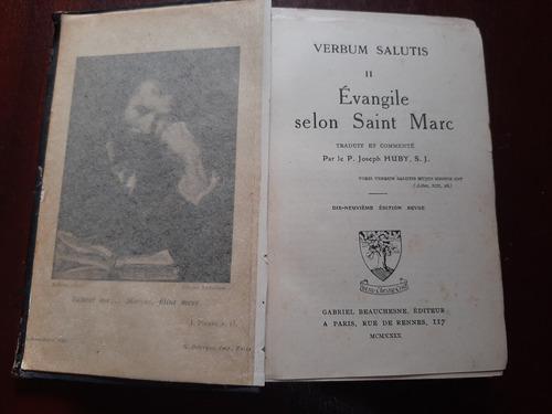 Verbum Salutis Ll Evangile Saint Marc