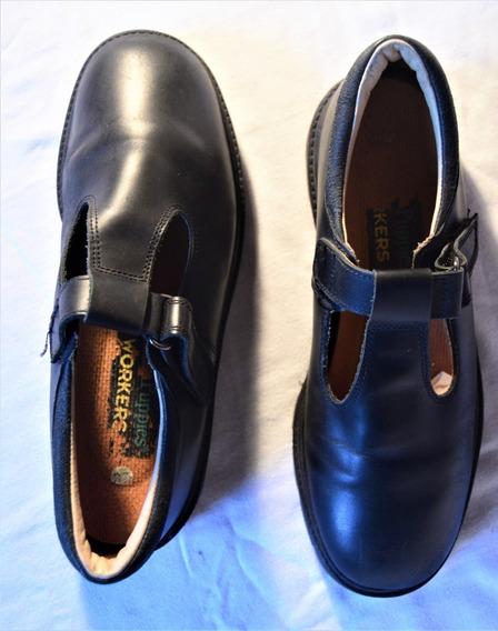 Calzado Colegial Guillermina N° 37 Negro Hush Puppies