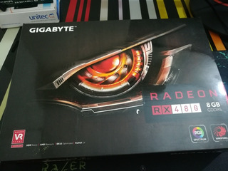 Tarjeta De Video Amd Rx480 8gb