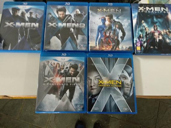 Blu-ray X-men Saga Completa Todos Coleção