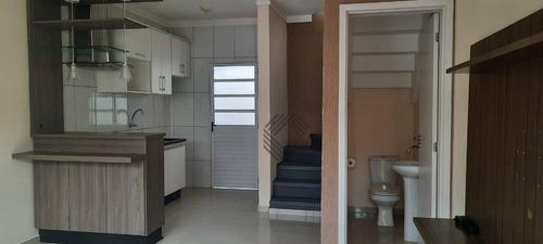 Sobrado Com 2 Dormitórios À Venda, 55 M² Por R$ 165.000,00 - Caguaçu - Sorocaba/sp - So4627