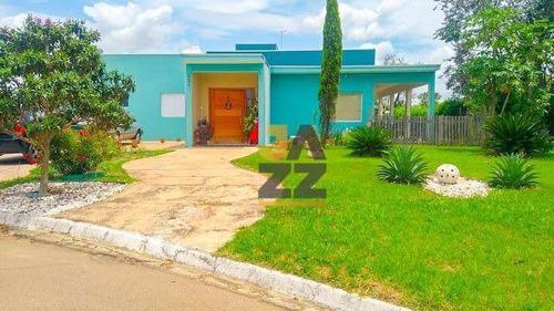 Linda Casa A Venda Em Condomínio Santa Mônica Em Itú - Sp - Ca13377