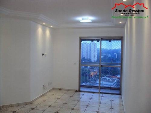 Apartamento Com 3 Quartos Para Venda, 71m² Por R$ 488.000 - 852