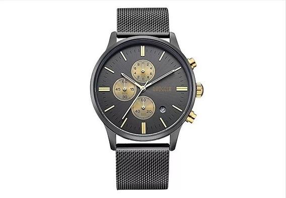 Reloj Baogela Para Hombre Correa De Malla De Acero Inoxidabl