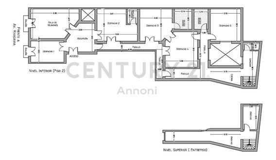 Oficina 5 Despachos Mas Sala De Reuniones, Recepción Y Zona De Archivo. Subte A