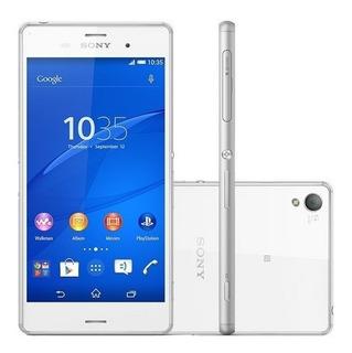 Smartphone Sony Xperia Z3 Tv D6643 Branco 16gb Vitrine