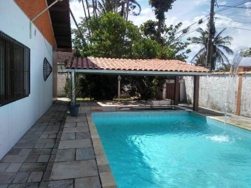 Imagem 1 de 14 de Casa C/ Varanda E Edícula No Bopiranga Em Itanhaém -6257 Npc