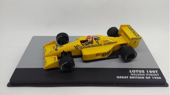 Muniatura Lótus 100t 1988 Nelson Piquet Lendas F-1 Ed39 1/43