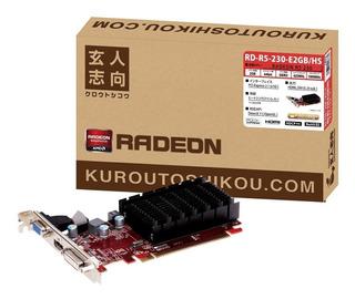 Tarjeta Gráfica Orientada Profesional Amd Radeon R5 230 Mont