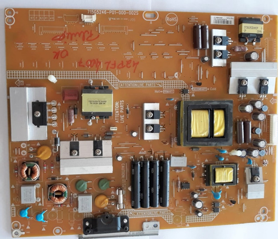 Placa Da Fonte Philips 715g5246-p03-000-002s 42pfl4007/78