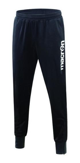 Pantalòn Largo Deportivo- Modelo Baal Negro- Macron